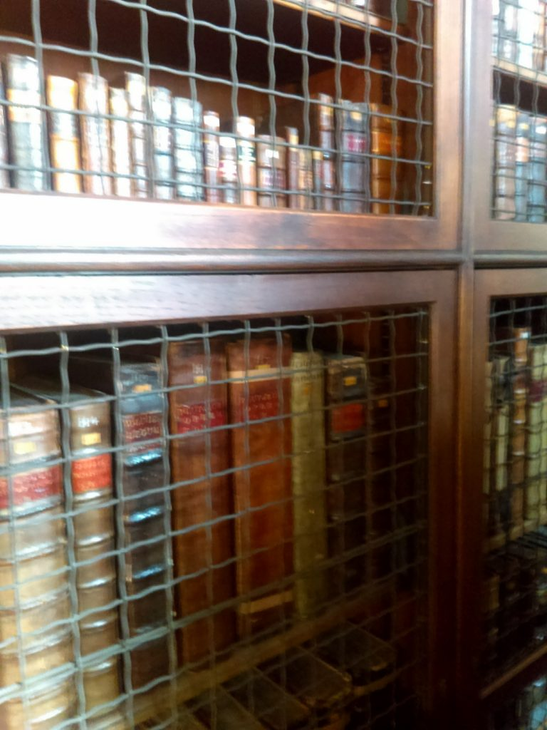 Books behind bars