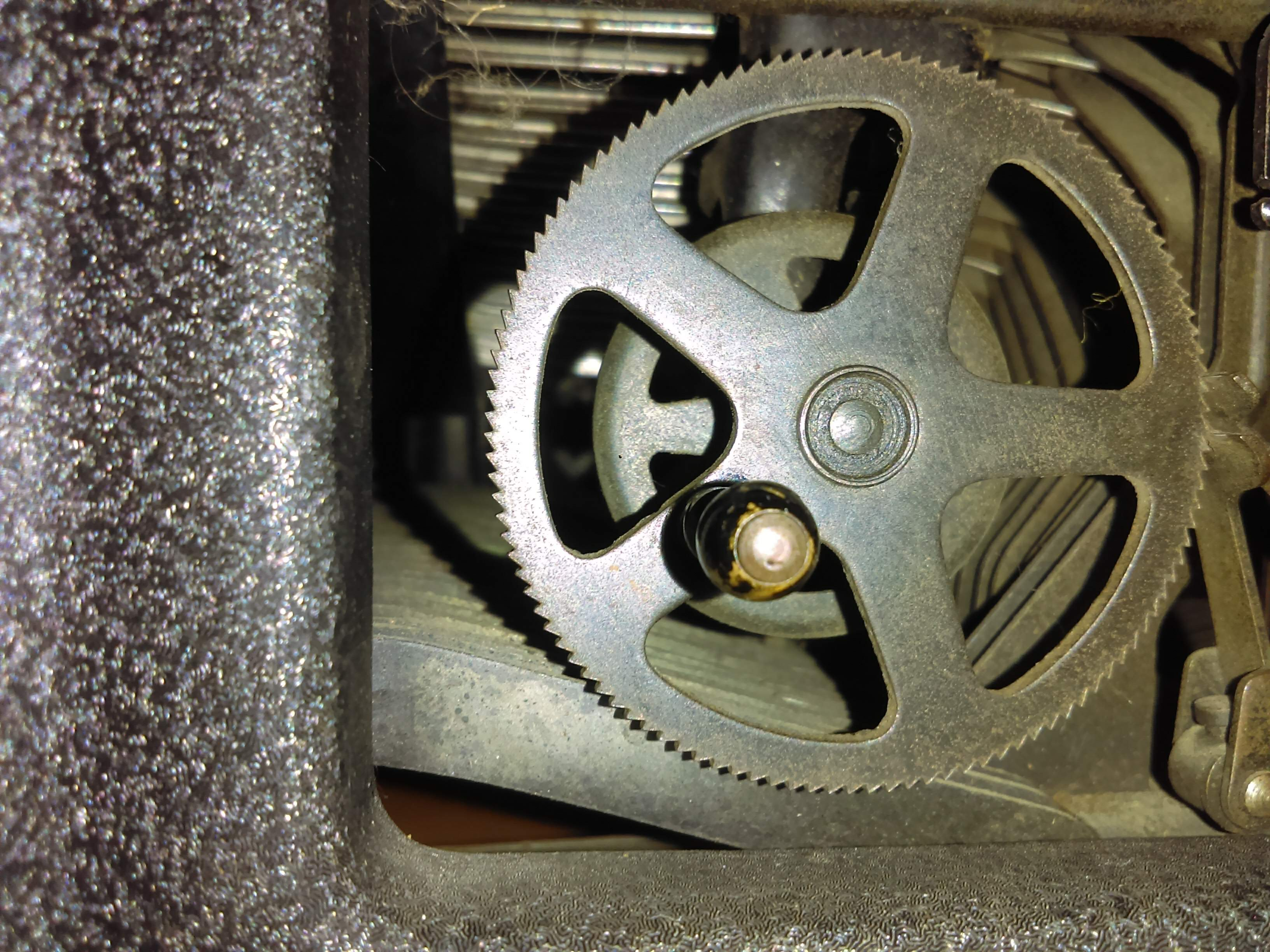 small metal wheel cog from 1923